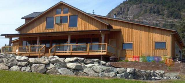 Western Red Cedar Board and Batten Siding