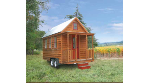 Western Red Cedar siding is the ultimate choice for tiny homes and mobile buildings