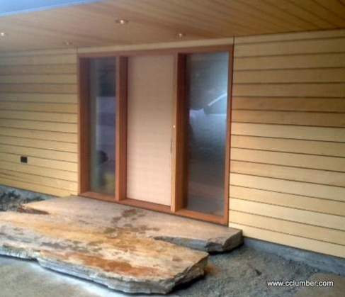 Alaskan Yellow Cedar Rain screen Siding