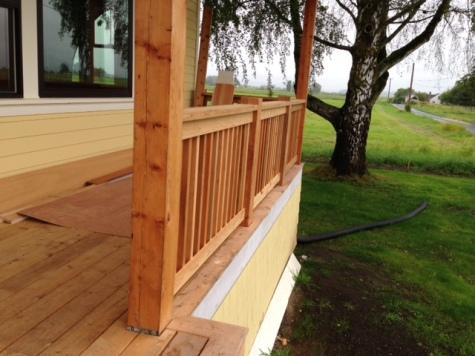 Knotty Western Red Cedar Decking and Appearance Grade Cedar Timber
