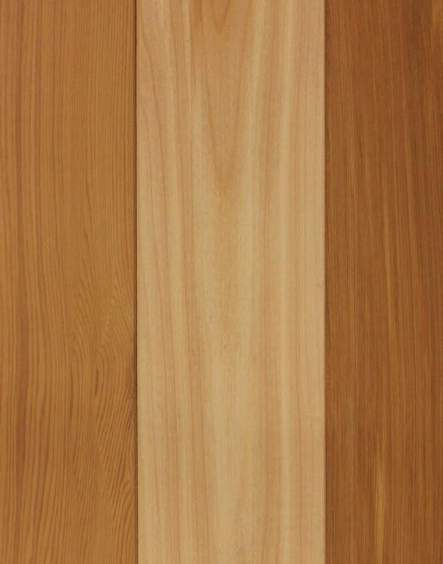 Clear, Mixed Grain Western Red Cedar