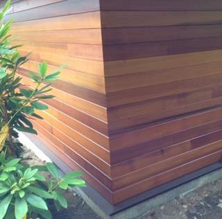 Clear, Vertical Grain Western Red Cedar Siding