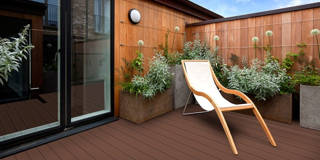 Zometek Bamboo Composite Decking
