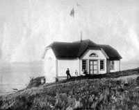 turn point light station in 1904