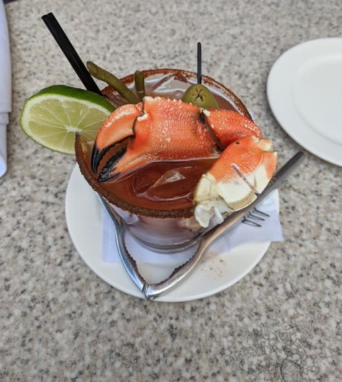 crabby bloody mary