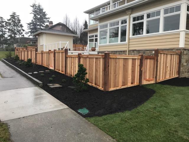 Red Cedar Fence Idea