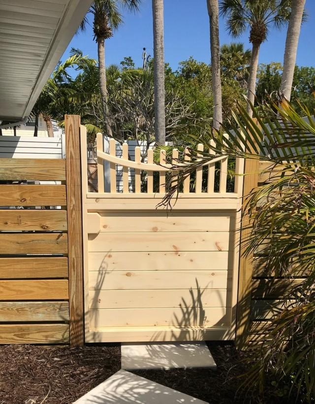 Yellow Cedar Custom Gate