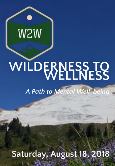 Wilderness to Wellness One Day Poker Hike, August 18, 2018