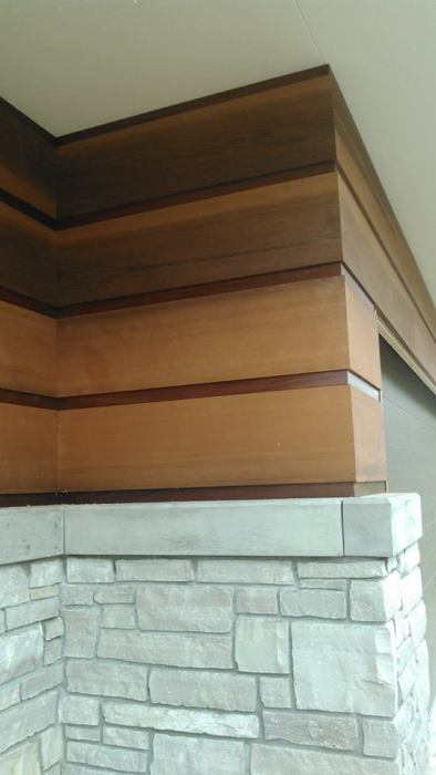 "5/4x12"" Clear Vertical Grain full Dimension for Frank Lloyd Wright Project in MI"