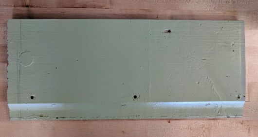 "Vintage 10"" Clear, Vertical Grain Western Red Cedar drop siding"