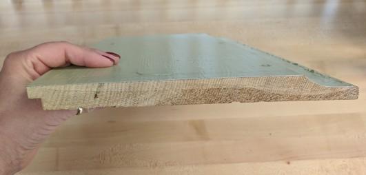 clear, vertical grain western red cedar dutch lap siding