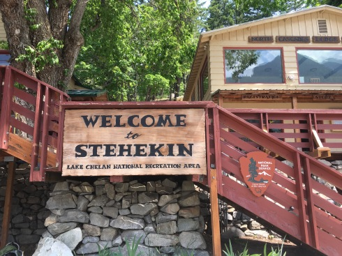 Western Red Cedar supplied for National Park Service at Stehekin