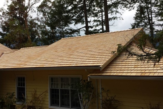 Alaska Yellow Cedar roofing shingles