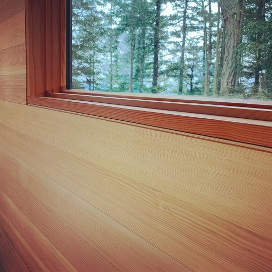 clear vertical grain douglas fir for interior paneling and trim