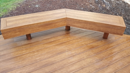 Zuri composite decking in Pecan for sale