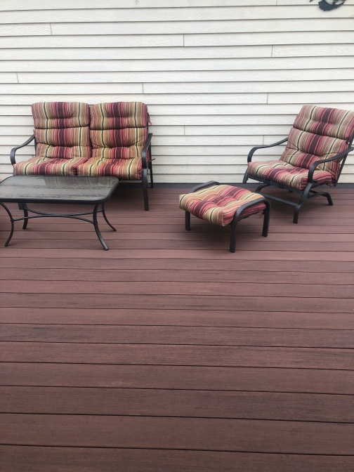 Azek and TimberTech decking