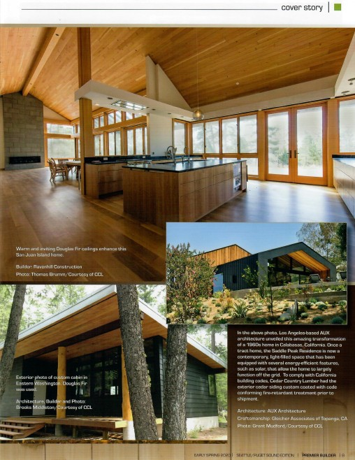 Cedar Country Lumber provides coastal grown Douglas Fir and Cedar building materials to customers nationwide
